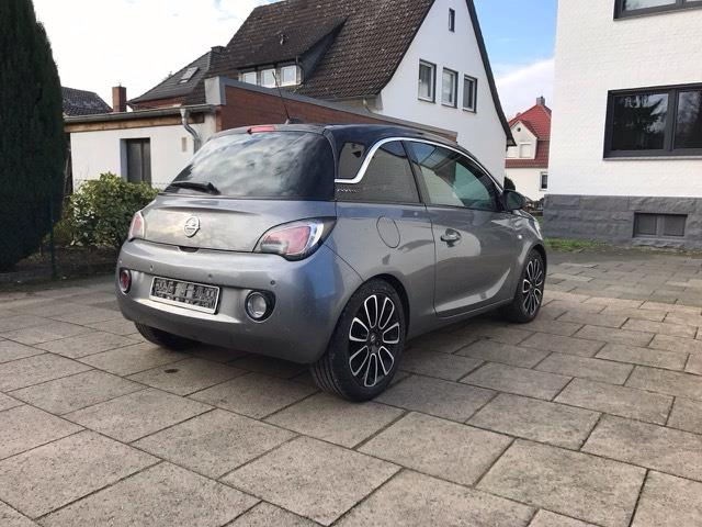 Left hand drive OPEL ADAM 1.2 Glam