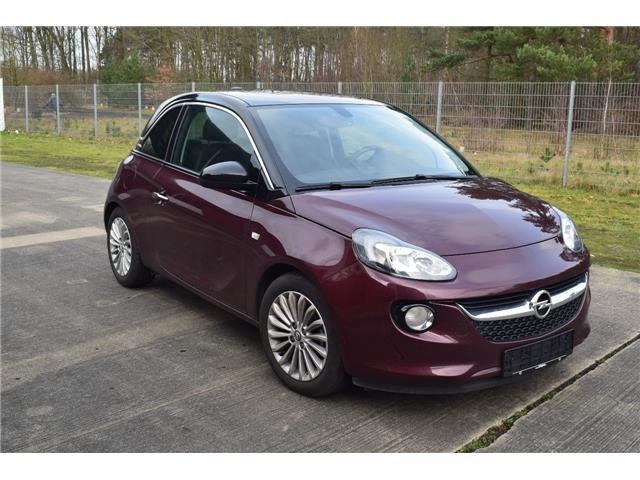 Lhd OPEL ADAM (02/2017) - purple - lieu: