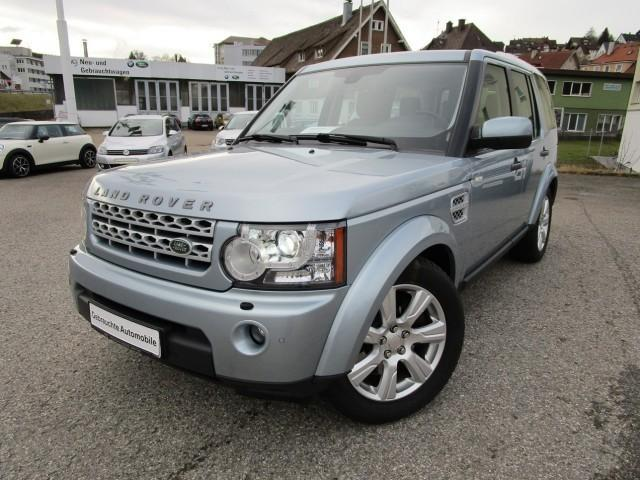 Left hand drive LANDROVER DISCOVERY 3.0 SDV6 HSE