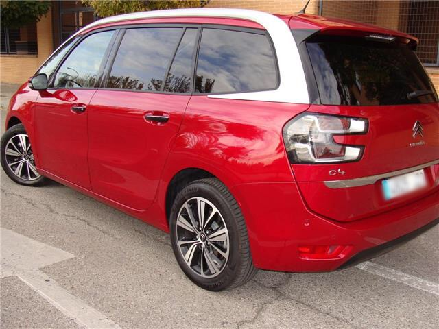 CITROEN C4 GRAND PICASSO (06/2017) - red - lieu: