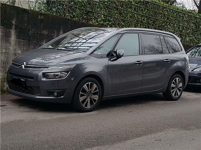 lhd CITROEN C4 GRAND PICASSO (04/2016) - grey - lieu: