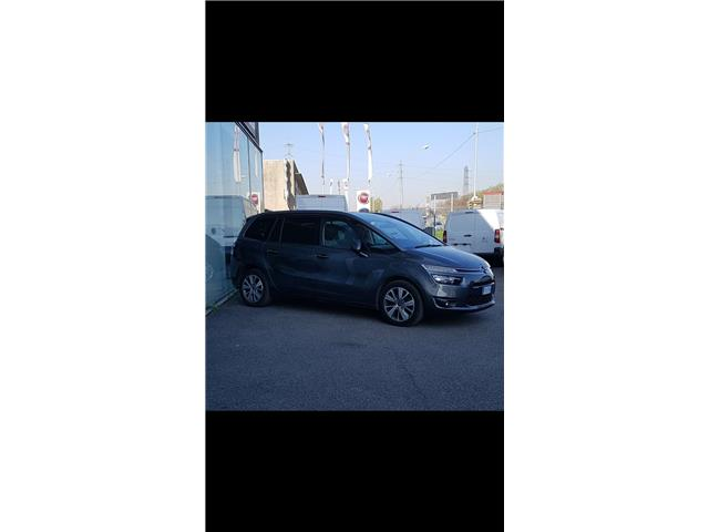 Left hand drive CITROEN C4 GRAND PICASSO  BlueHDi 120 S