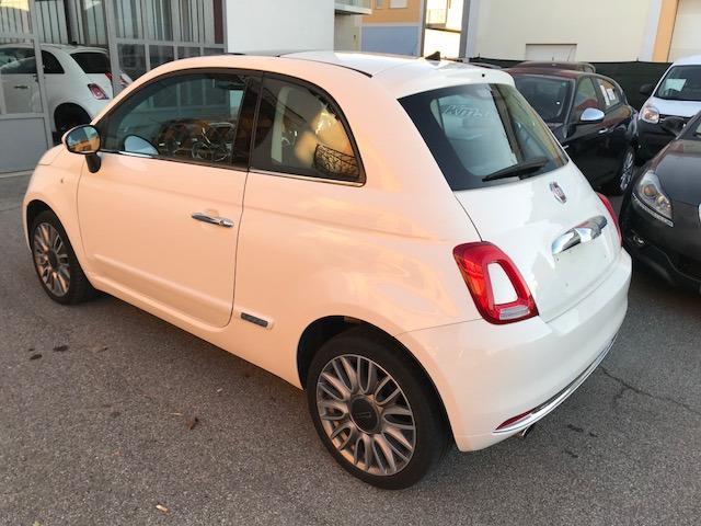 Left hand drive FIAT 500  1.2 Lounge