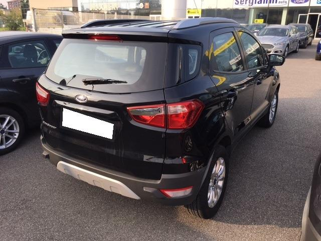 FORD ECOSPORT (01/2017) - black - lieu: