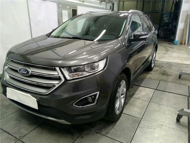 lhd FORD EDGE (09/2016) - grey - lieu: