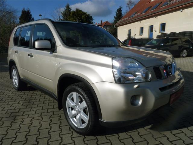 Left hand drive NISSAN X TRAIL 2.0 dci 4x4
