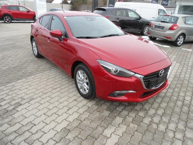 lhd MAZDA 3 (03/2017) - red - lieu: