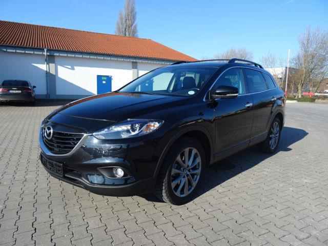 Left hand drive MAZDA CX-9  7 SEATSr LPG