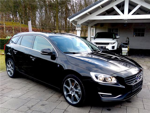 Left hand drive VOLVO V60 2.0 D2