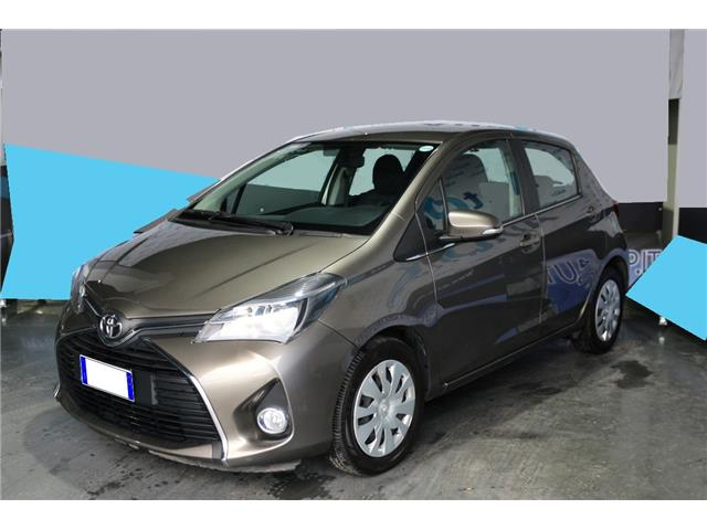lhd TOYOTA YARIS (03/2016) - brown - lieu: