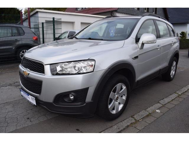 lhd car CHEVROLET CAPTIVA (02/2014) - silver - lieu: