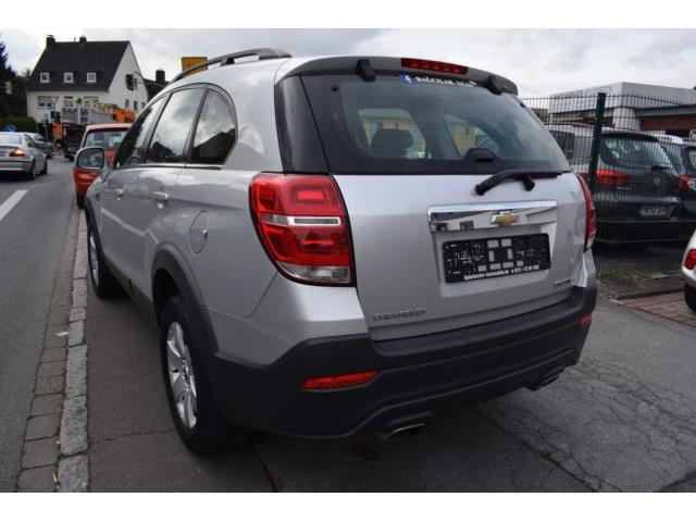 Left hand drive car CHEVROLET CAPTIVA (02/2014) - silver