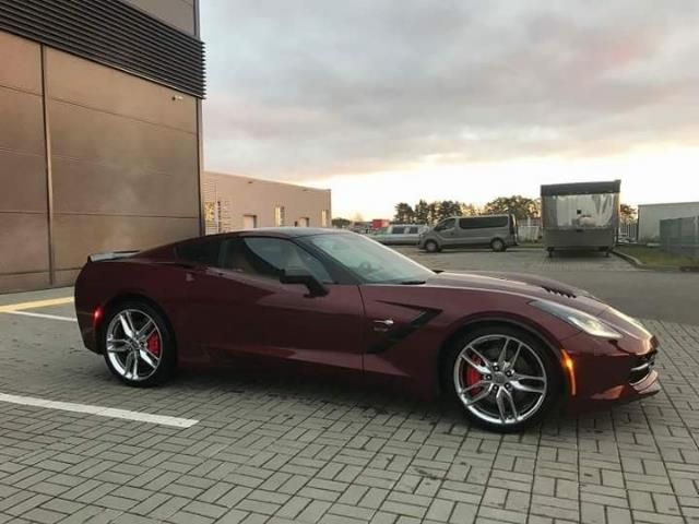 Left hand drive CHEVROLET CORVETTE 6.2