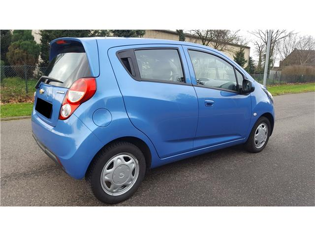 lhd car CHEVROLET SPARK (02/2014) - blue - lieu: