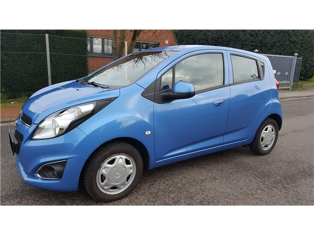 Lhd CHEVROLET SPARK (02/2014) - blue