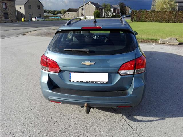 Left hand drive car CHEVROLET CRUZE (01/2014) - blue - lieu: