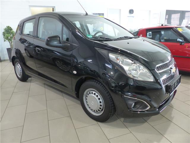 lhd car CHEVROLET SPARK (01/2014) - black