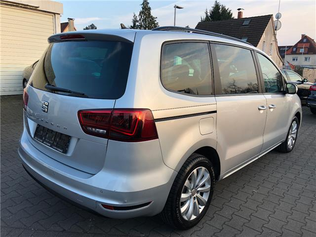 Left hand drive SEAT ALHAMBRA 2.0 7 SEATS