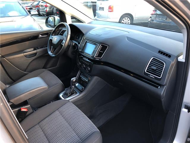 left hand drive SEAT ALHAMBRA (11/2015) - silver