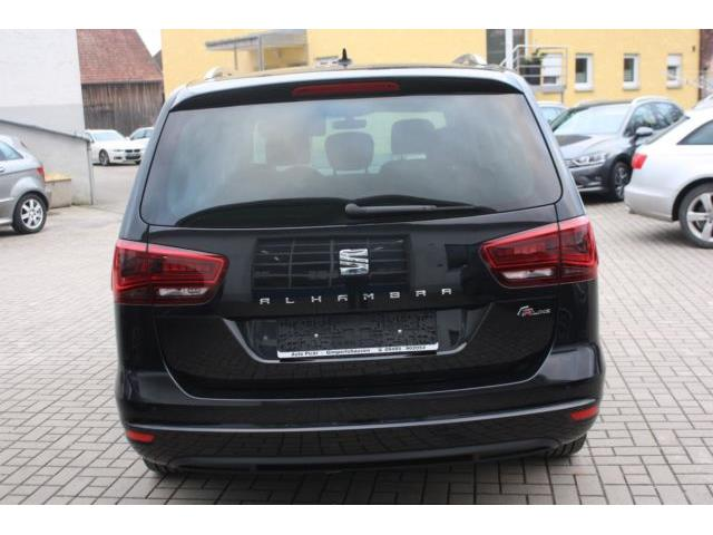 Left hand drive car SEAT ALHAMBRA (03/2017) - black