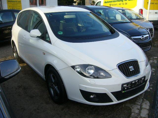 Left hand drive SEAT ALTEA 1.6