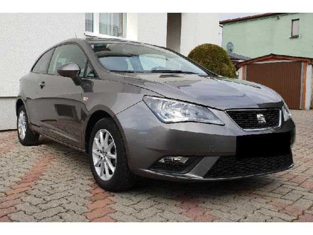 lhd car SEAT IBIZA (11/2016) - grey - lieu: