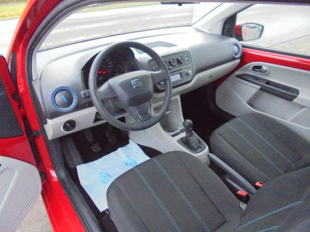 left hand drive SEAT MII (03/2016) - red - lieu: