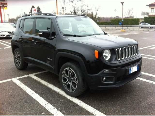 Left hand drive JEEP RENEGADE 2.0
