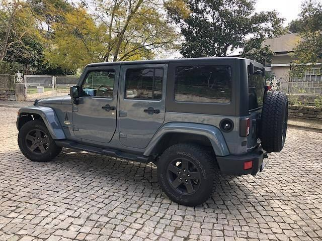 Lhd JEEP WRANGLER (07/2016) - grey