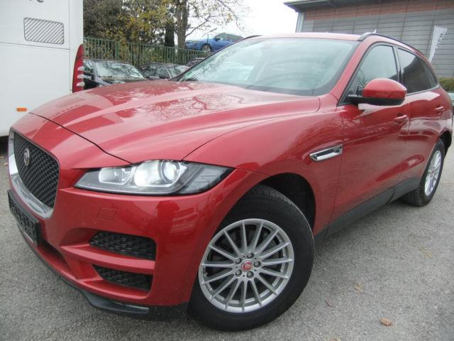 JAGUAR F-PACE (08/2016) - red - lieu: