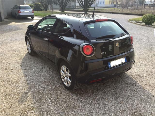 lhd car ALFA ROMEO MITO (03/2016) - black