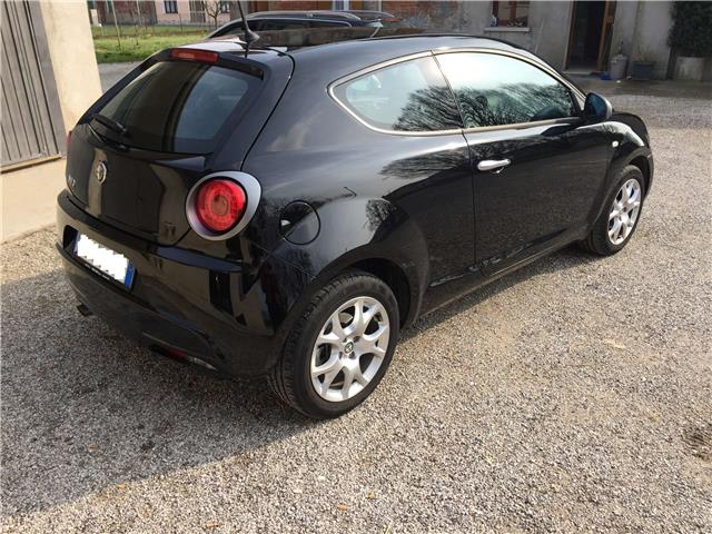 Left hand drive car ALFA ROMEO MITO (03/2016) - black - lieu: