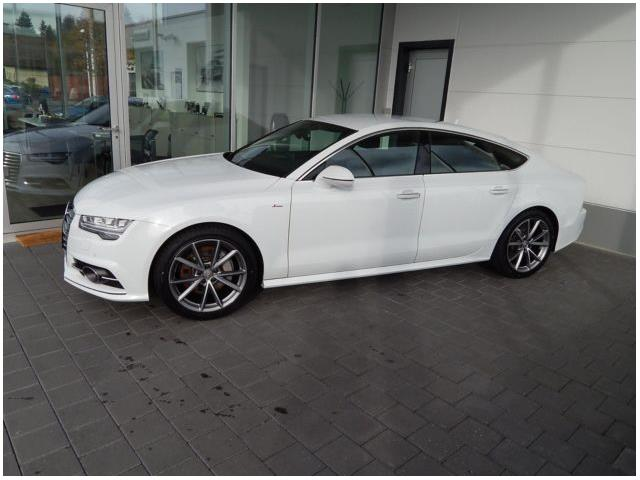 lhd car AUDI A7 (01/2017) - white