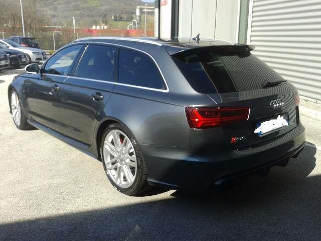 Lhd AUDI RS6 (05/2016) - grey - lieu:
