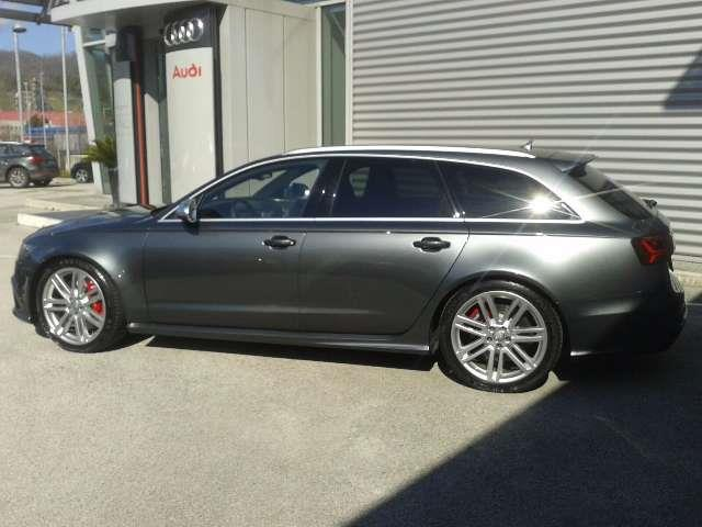 Left hand drive car AUDI RS6 (05/2016) - grey - lieu: