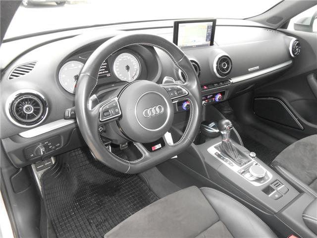 left hand drive AUDI S3 (05/2015) - silver