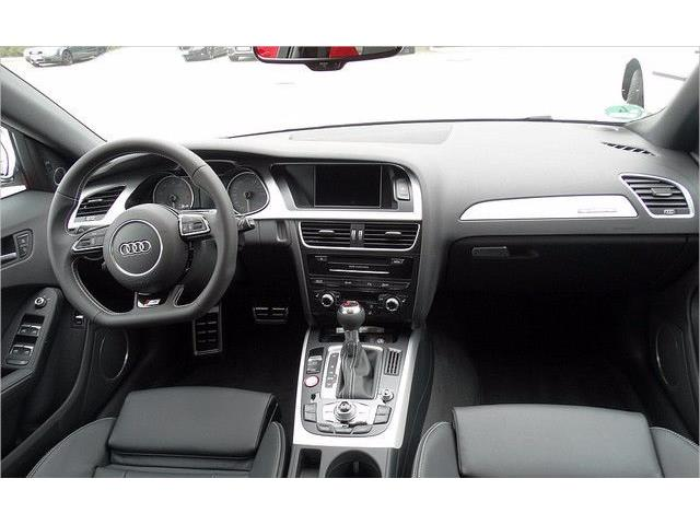 Left hand drive car AUDI S4 (09/2015) - white