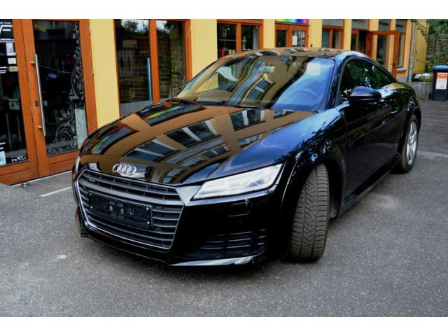 lhd car AUDI TT (03/2016) - black - lieu: