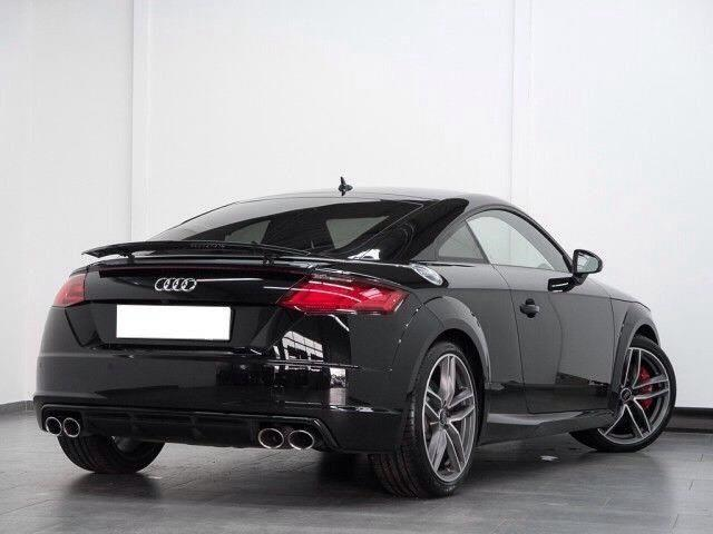 lhd car AUDI TTS (01/2017) - black - lieu: