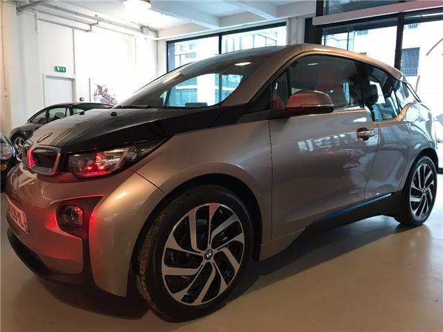 lhd car BMW I3 (02/2015) - grey - lieu: