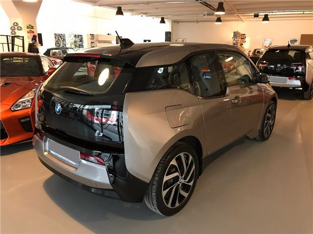 Left hand drive car BMW I3 (02/2015) - grey - lieu: