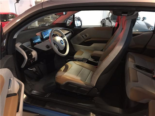 left hand drive BMW I3 (02/2015) - grey - lieu: