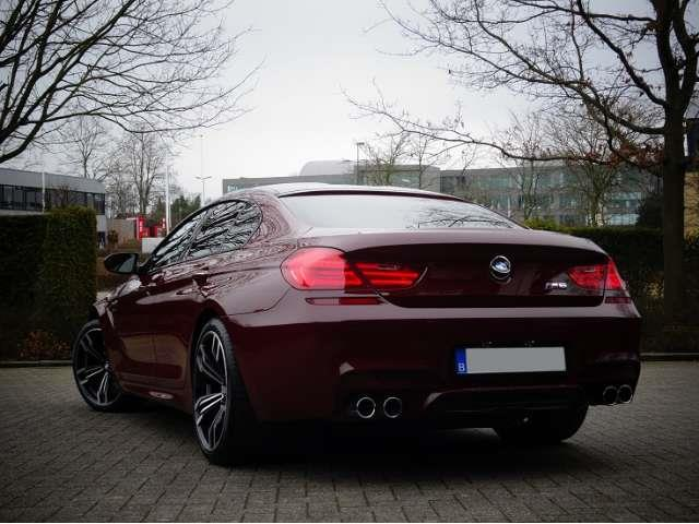 Left hand drive BMW M6 GRAN COUPE