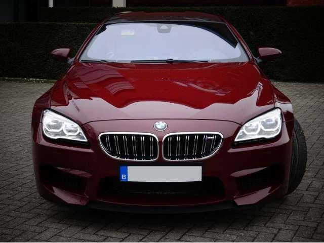 Left hand drive car BMW M6 (04/2016) - RED - lieu: