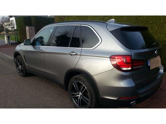 lhd car BMW X5 (05/2015) - grey