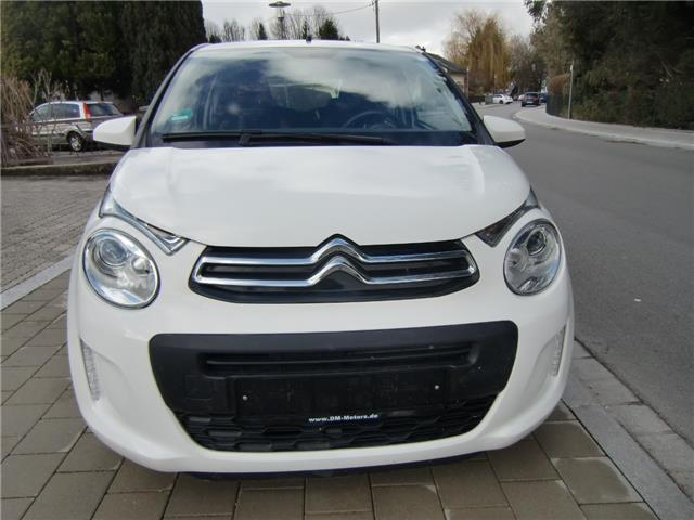 lhd car CITROEN C1 (01/2016) - white - lieu: