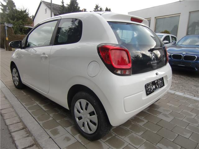Left hand drive car CITROEN C1 (01/2016) - white - lieu: