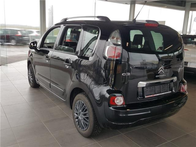 lhd car CITROEN C3 PICASSO (04/2016) - black - lieu: