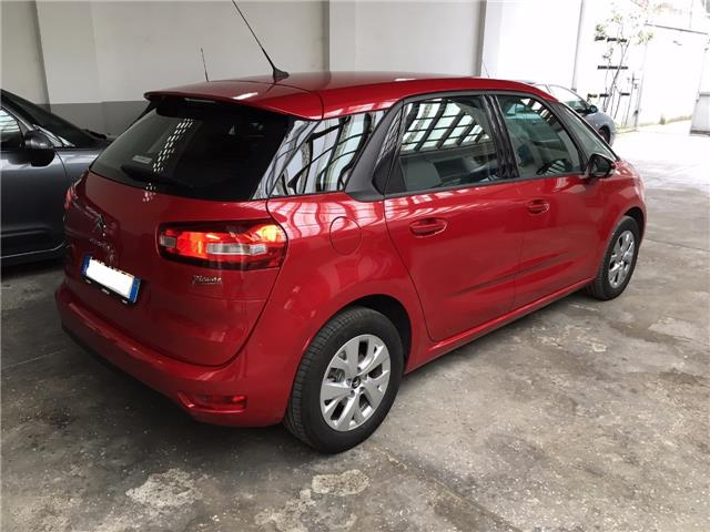 Left hand drive car CITROEN C4 PICASSO (03/2015) - red - lieu:
