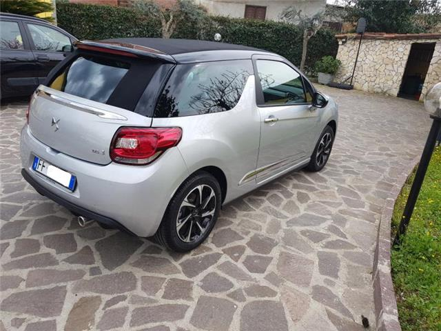 lhd car CITROEN DS3 (01/2017) - silver